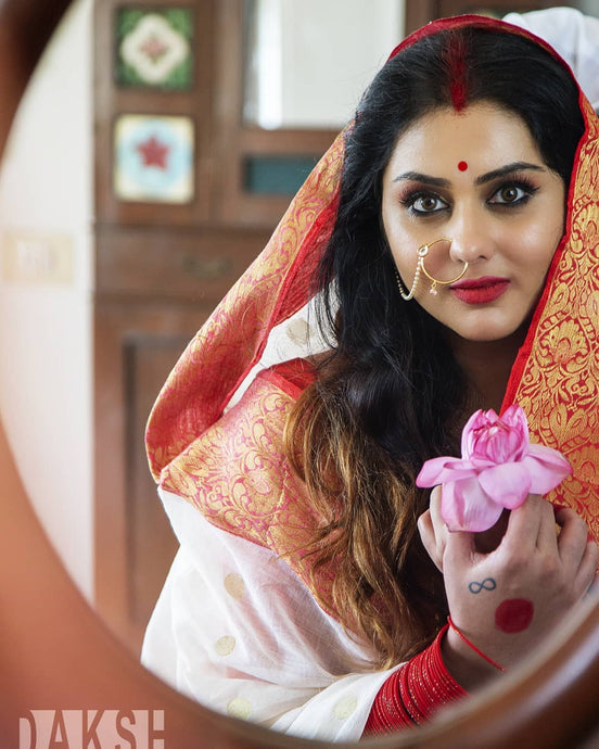 Dussehra Saree Love From South Indian Film Industry actress Namitha