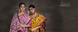 Bengal Looms India - Hand Woven Handloom Sarees