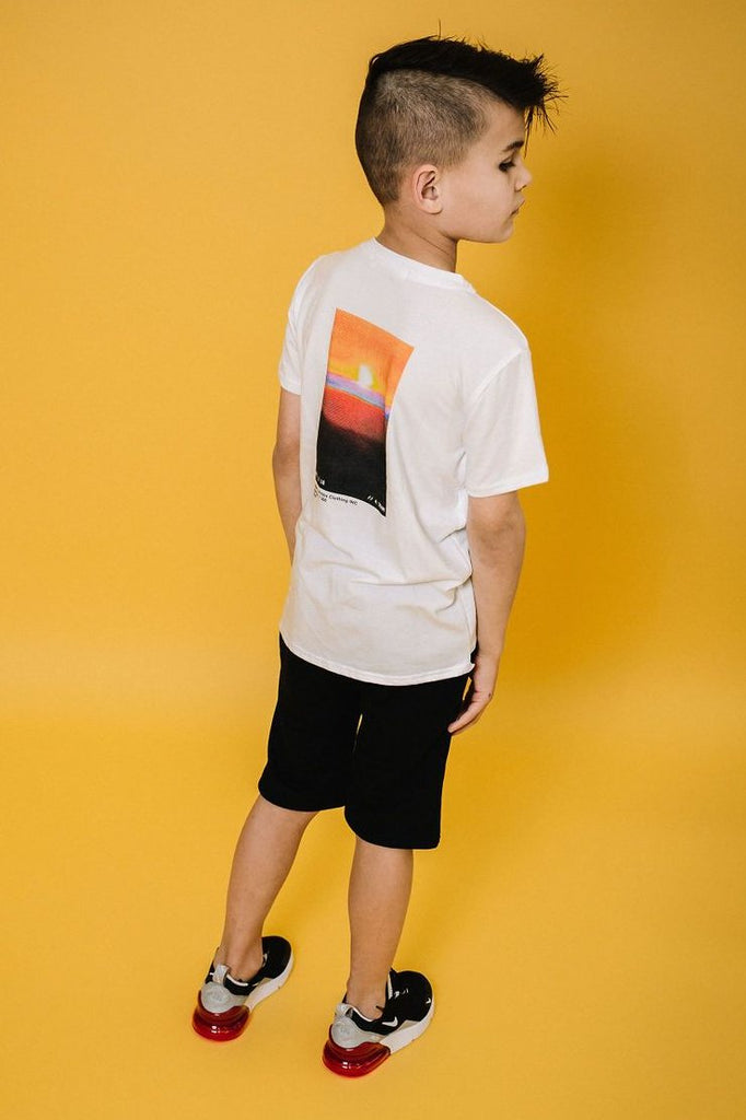 Patch Elongated Tee
