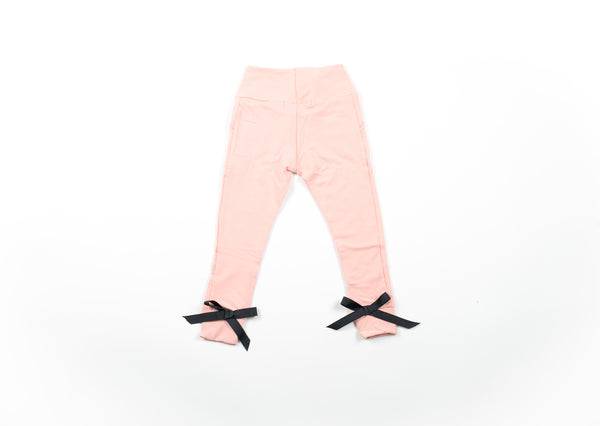 Bow Knot Sweatpant - Mellow Rose