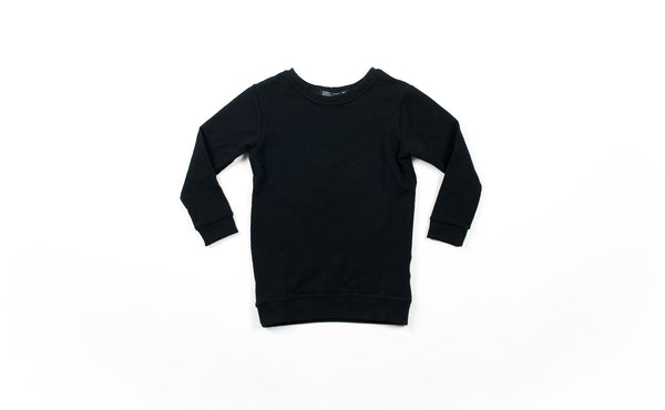 Peyton Oversized Sweatshirt - Black