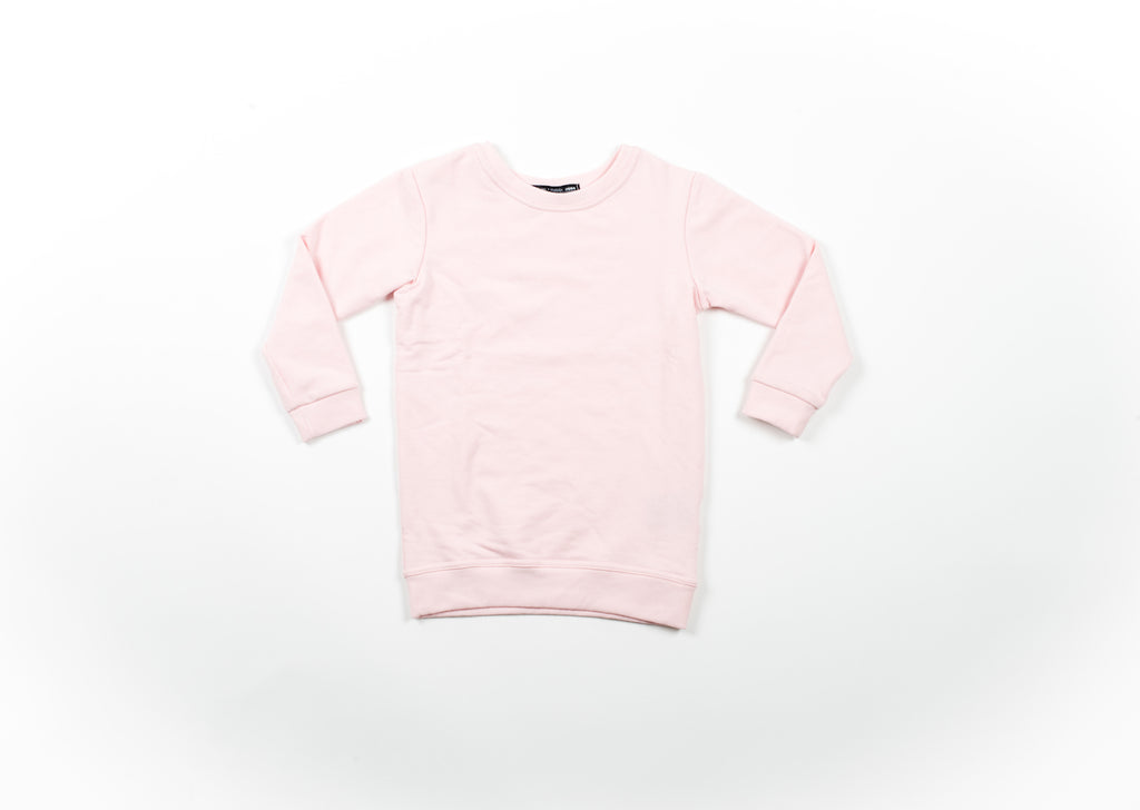 Peyton Oversized Sweatshirt - Powder pink