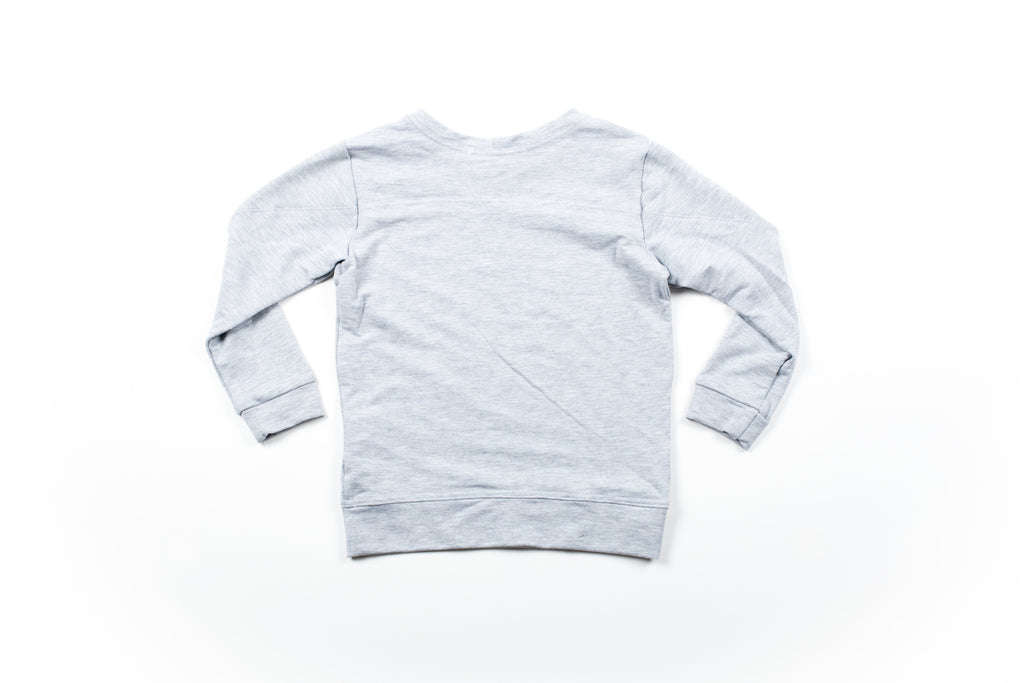 Hudson Sweatshirt - LT Grey Mix