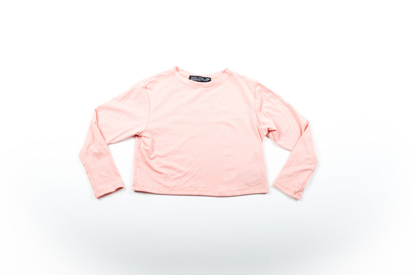 Olivia Crop Top - Mellow Rose
