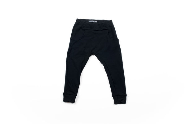 Matthew Fleece Pant - Black