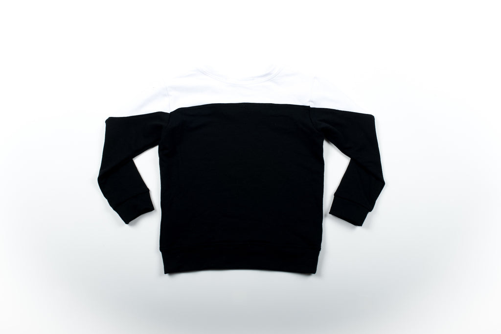 Hudson Two-Tone sweatshirt
