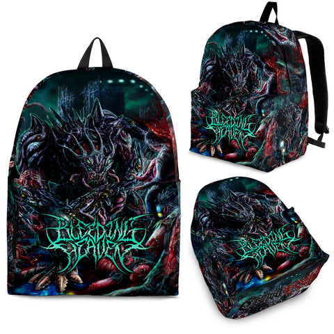 Official Bleeding Heaven Evolutionary Descendant of Brutality Slampack - Crowdkill Apparel Death Metal Deathcore Hardcore Slam Merchandise
