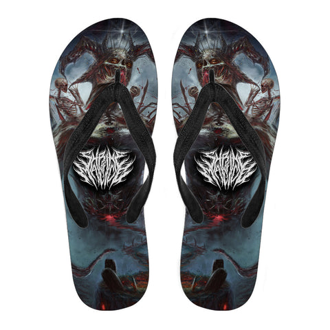 Official Shrine Of Malice Malignance Flip Flops