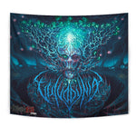 Official Vulvodynia Cognizant Castigation Giant Wall Flag - Crowdkill Apparel Death Metal Deathcore Hardcore Slam Merchandise