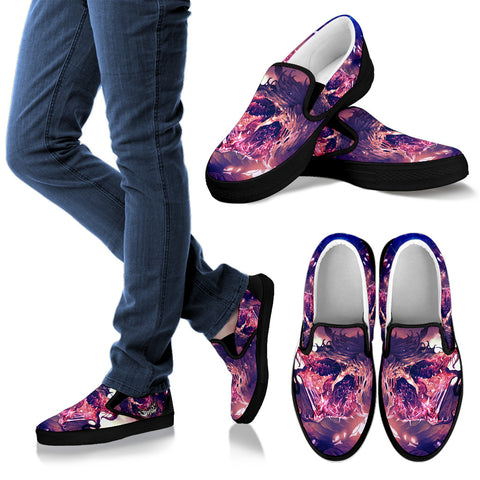 Official Wormhole Genesis Slip Ons