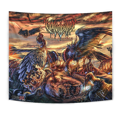Official Vulvodynia Mob Justice Wall Flag