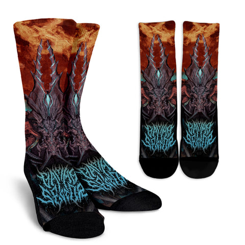 Official  Gamma Sector Nex Omne Final Socks - Crowdkill Apparel