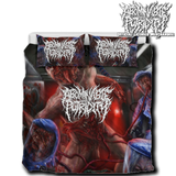 Official Abominable Putridity The Anomalies Of Artificial Origin Bedset - Crowdkill Apparel Death Metal Deathcore Hardcore Slam Merchandise