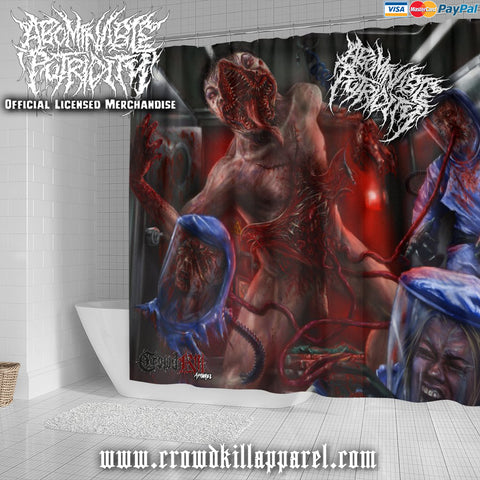 Official Abominable Putridity The Anomalies Of Artificial Origin Shower Curtain