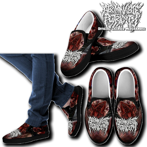 Official Abominable Putridity The Anomalies Of Artificial Origin Slip Ons