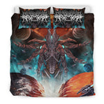 Official Gamma Sector Nex Omne Bedset - Crowdkill Apparel Death Metal Deathcore Hardcore Slam Merchandise