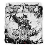 Official District 105 The Man Who Laughs Bedset - Crowdkill Apparel Death Metal Deathcore Hardcore Slam Merchandise