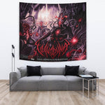 Official Vulvodynia Finis Omnium Ignorantiam Giant Wall Flag - Crowdkill Apparel Death Metal Deathcore Hardcore Slam Merchandise