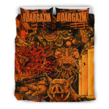 Official Boargazm Space Pigs Bedset - Crowdkill Apparel Death Metal Deathcore Hardcore Slam Merchandise