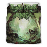 Official Acrania The Beginning of the End Bedset - Crowdkill Apparel Death Metal Deathcore Hardcore Slam Merchandise