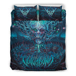 Official Vulvodynia Cognizant Castigation Bedset - Crowdkill Apparel Death Metal Deathcore Hardcore Slam Merchandise