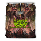 Official Architect Of Dissonance Vile Mechanical Origin Of Human Virulency Bedset - Crowdkill Apparel Death Metal Deathcore Hardcore Slam Merchandise