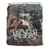 Official Harvest Misery Bedset - Crowdkill Apparel Death Metal Deathcore Hardcore Slam Merchandise
