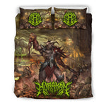 Official Hurakan Abomination Of Aurokos Bedset - Crowdkill Apparel Death Metal Deathcore Hardcore Slam Merchandise