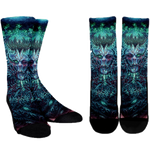 Official Vulvodynia Cognizant Castigation Socks - Crowdkill Apparel Death Metal Deathcore Hardcore Slam Merchandise