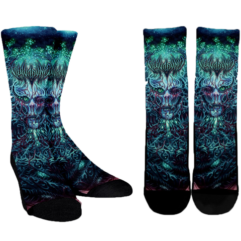 Official Vulvodynia Cognizant Castigation Socks - Crowdkill Apparel