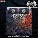 Official Acranius Reign Of Terror Bedset - Crowdkill Apparel Death Metal Deathcore Hardcore Slam Merchandise