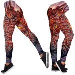 Official Acranius Reign Of Terror Leggings - Crowdkill Apparel Death Metal Deathcore Hardcore Slam Merchandise