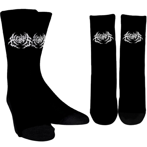 Official Acranius Logo Socks - Crowdkill Apparel Death Metal Deathcore Hardcore Slam Merchandise