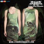 Official Acrania The Beginning of the End Dress - Crowdkill Apparel Death Metal Deathcore Hardcore Slam Merchandise