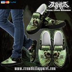 Official Acrania The Beginning of the End Slip-Ons - Crowdkill Apparel Death Metal Deathcore Hardcore Slam Merchandise