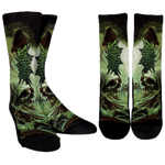 Official Acrania The Beginning of the End Socks - Crowdkill Apparel Death Metal Deathcore Hardcore Slam Merchandise