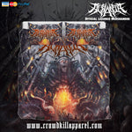 Official Acrania Tyrannical Hierarchy Bedset - Crowdkill Apparel Death Metal Deathcore Hardcore Slam Merchandise