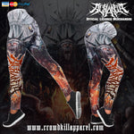 Official Acrania Tyrannical Hierarchy Leggings - Crowdkill Apparel Death Metal Deathcore Hardcore Slam Merchandise
