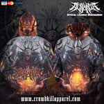 Official Acrania Tyrannical Hierarchy Pullover - Crowdkill Apparel Death Metal Deathcore Hardcore Slam Merchandise