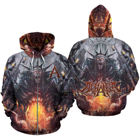 Official Acrania Tyrannical Hierarchy Zip-Up