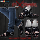 Official Slamentation Crawling Through The Morgue Slip Ons - Crowdkill Apparel