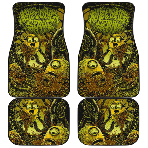 Official Bleeding Spawn Xenominions Car Floor Mats