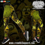 Official Bleeding Spawn Xenominions Leggings - Crowdkill Apparel Death Metal Deathcore Hardcore Slam Merchandise