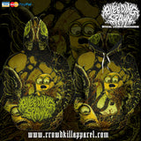 Official Bleeding Spawn Xenominions Pullover - Crowdkill Apparel Death Metal Deathcore Hardcore Slam Merchandise