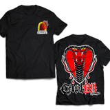 """Snake Eyes"" Tee (Preorder) - Crowdkill Apparel"