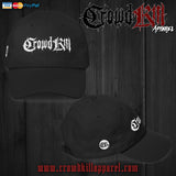 Crowdkill Classic Dad Cap - Crowdkill Apparel Death Metal Deathcore Hardcore Slam Merchandise