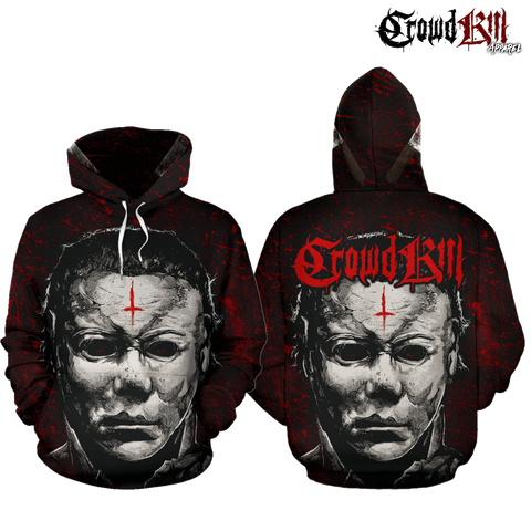 Official Crowdkill Apparel Halloween Beatdown Pullover - Crowdkill Apparel Death Metal Deathcore Hardcore Slam Merchandise