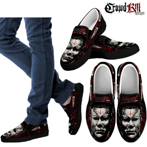 Official Crowdkill Apparel Halloween Beatdown Slip-Ons