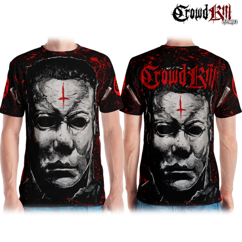 Official Crowdkill Apparel Halloween Beatdown T-shirt - Crowdkill Apparel Death Metal Deathcore Hardcore Slam Merchandise