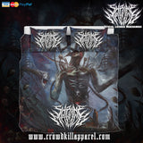 Official Shrine Of Malice Malignance Bedset - Crowdkill Apparel Death Metal Deathcore Hardcore Slam Merchandise